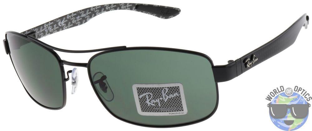 981dcf25acb959 Ray-Ban Tech Carbon Fiber Sunglasses 62mm Green Classic G-15 Lens  57 +  free shipping