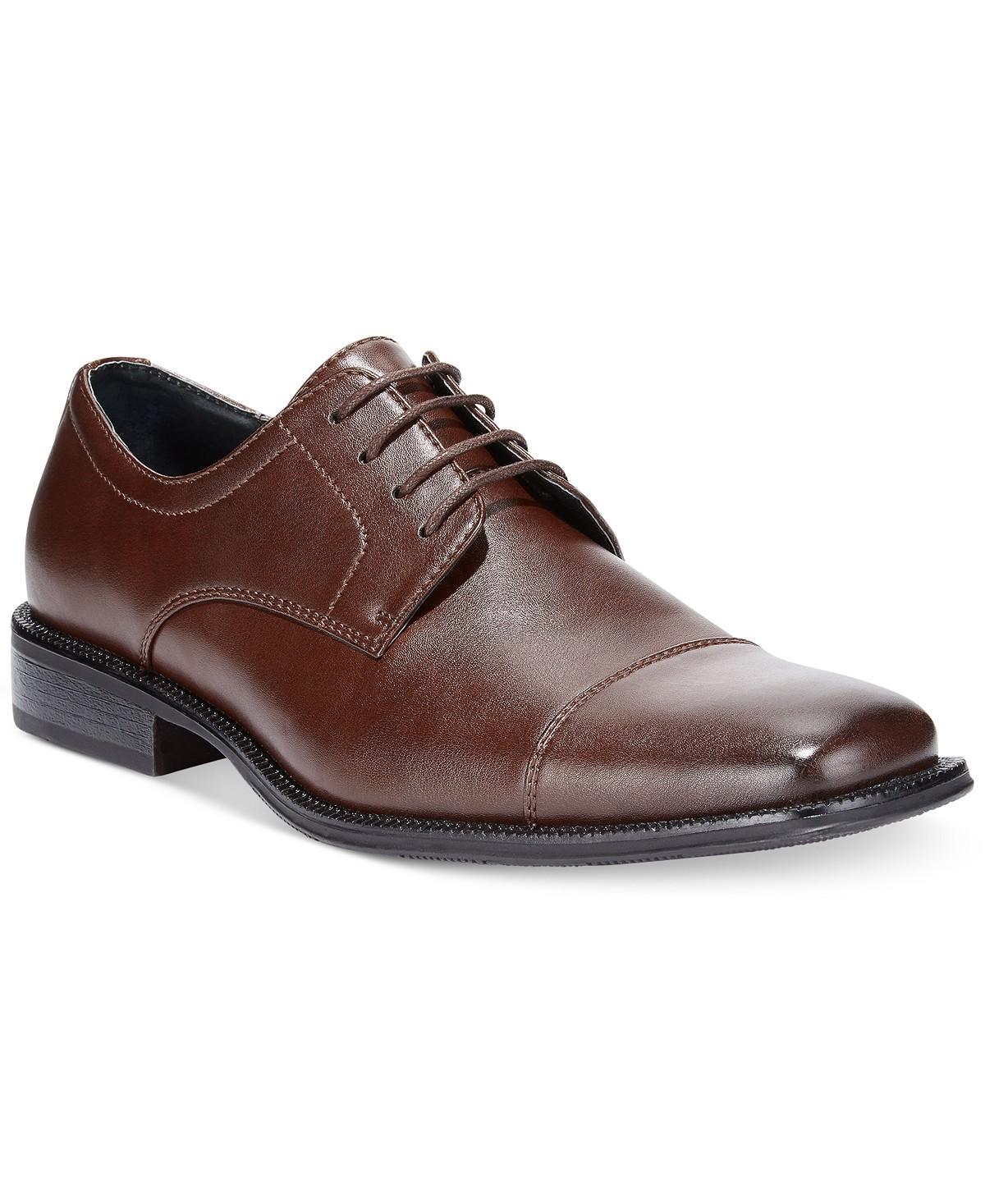 6ec655acaf6 Alfani Men s Adam Cap Toe Oxford (Brown) - Slickdeals.net