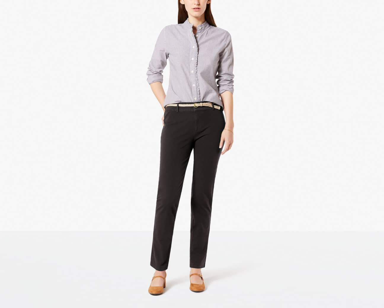 Dockers Women's Sale Items Additional 50% Off: Ideal Slim Pant (3 colors) 2 for $27 + free shipping ($13.50 each)
