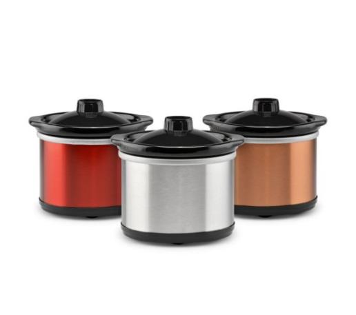 3-Pack TRU Mini Dipper Slow Cookers (0.65qt) $10.90 ($3.63 each) + free shipping ($9.91 for Sam's Club Members)