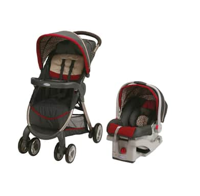 Graco Glider LX Gliding Swing $84, Graco FastAction Fold Click Connect Travel System (Finley) $120, More + free shipping