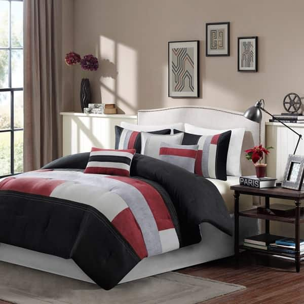 7-Piece Canyon Comforter Set (queen) $20, 6-Piece Maya Cotton Comforter Set (queen or king) $30, More + $6 shipping