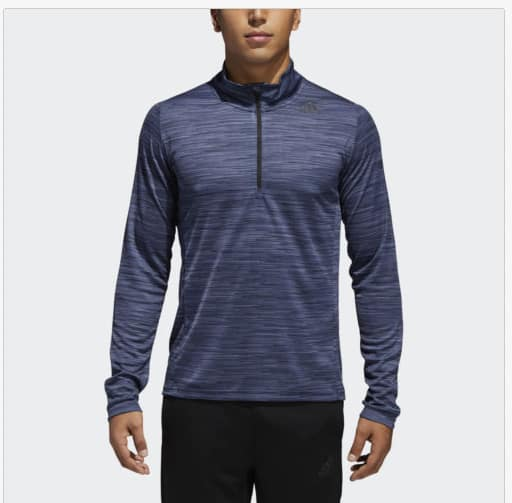 adidas Men's Ult Tech 1/4 Zip Pullover, Men's Essentials Linear Logo Pants, 2 for $30 ($15 each) More + free shipping