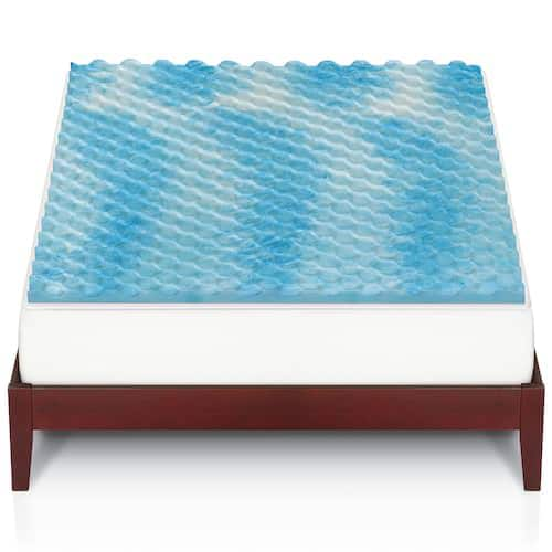 The Big One 15 Gel Memory Foam Mattress Topper any size