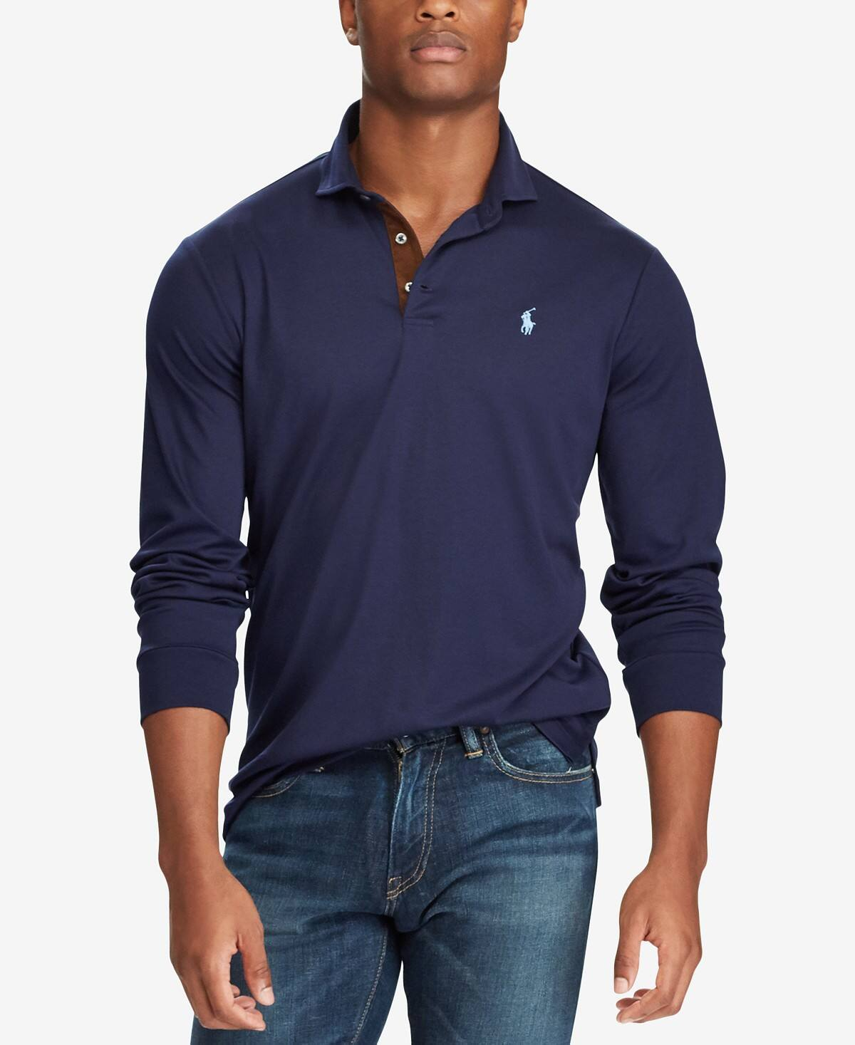 Mens Polo Ralph Lauren Classic Long Sleeve Polo Slickdeals