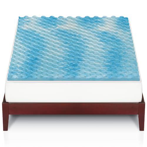 kohls memory foam mattress topper 1.5