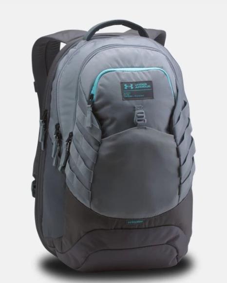 Under Armour Backpacks: Hudson Backpack $36 (orig $90), On Balance Women's Backpack (raisin red) $26, Guardian Backpack $40 & More + Free S/H w/ ShopRunner