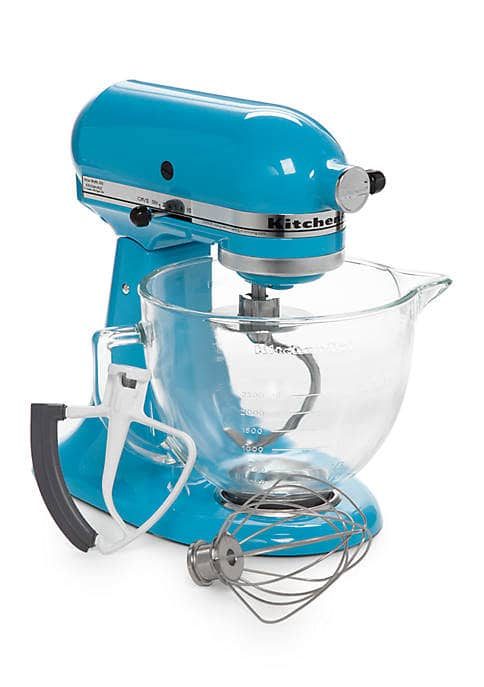 KitchenAid 5-Quart Tilt-Head Stand Mixer w/ Glass Bowl ...