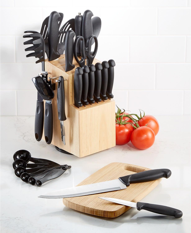 30-Piece Martha Stewart Essentials Cutlery Set + $10 Macys eGift Card via Slickdeals Rebate $28 + free store pickup at Macys