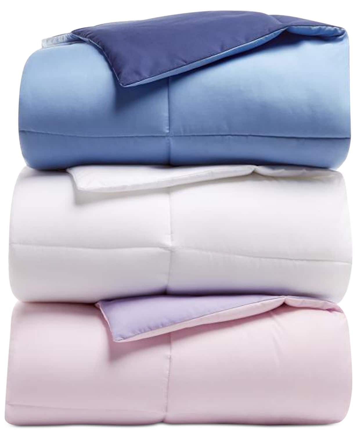Martha Stewart Essentials Reversible Down Alternative Comforter (queen) + $10 Macys eGift Card $25.50 shipped via Slickdeals Rebate, More