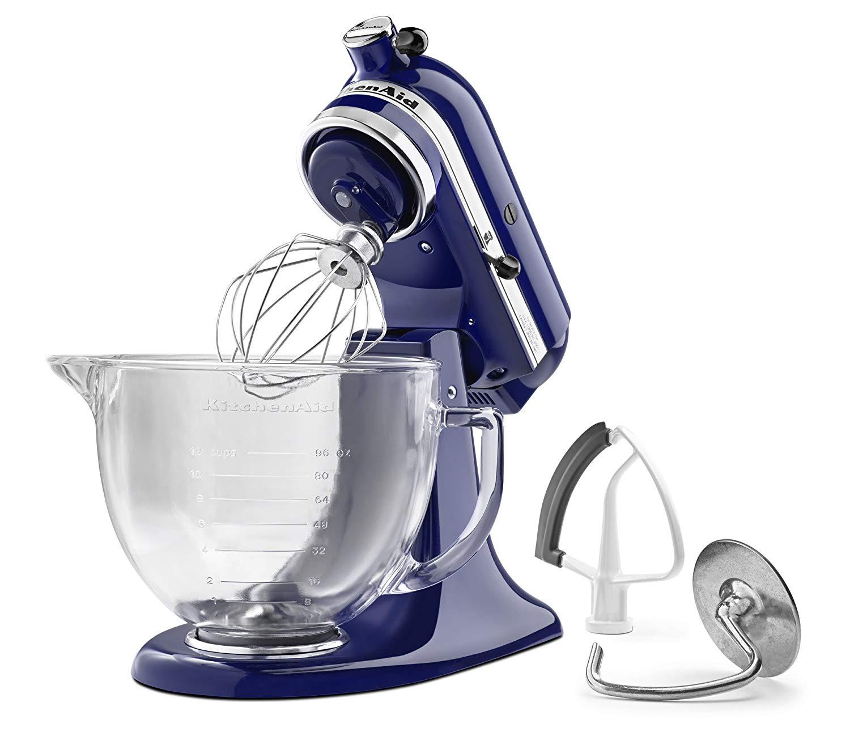 Kitchenaid 5 Qt Tilt Head Stand Mixer W Glass Bowl 2