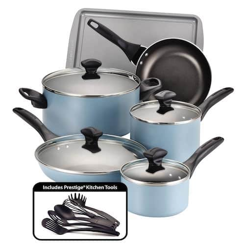 Kohls Cardholders: 15-Piece Farberware Aluminum Cookware Set $25 after Rebate + free shipping