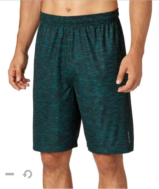 Reebok Men's Printed Performance Shorts $8.80, adidas Men's Axis Knit Training Shorts 2 for 21.50 ($10.80 each), Under Armour Women's 3'' Play Up Shorts 2.0 $12, More + shipping