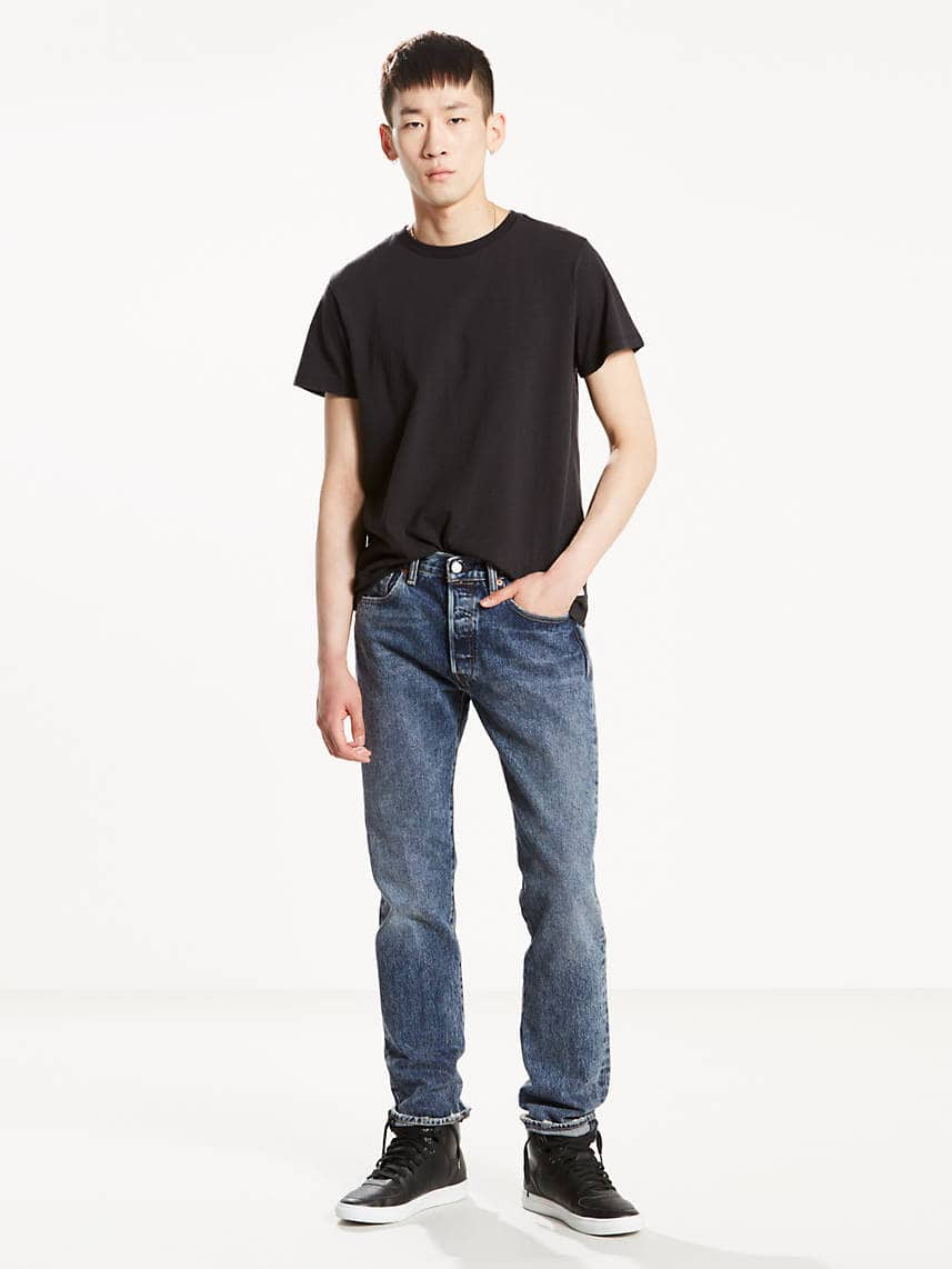 Levi's Coupon: 50% Off Select Sale Styles: Men's 501 Original Fit Jeans (in my eyes) $12.50, 511 Slim Fit Stretch Jeans $15 + Free S&H Orders $100+