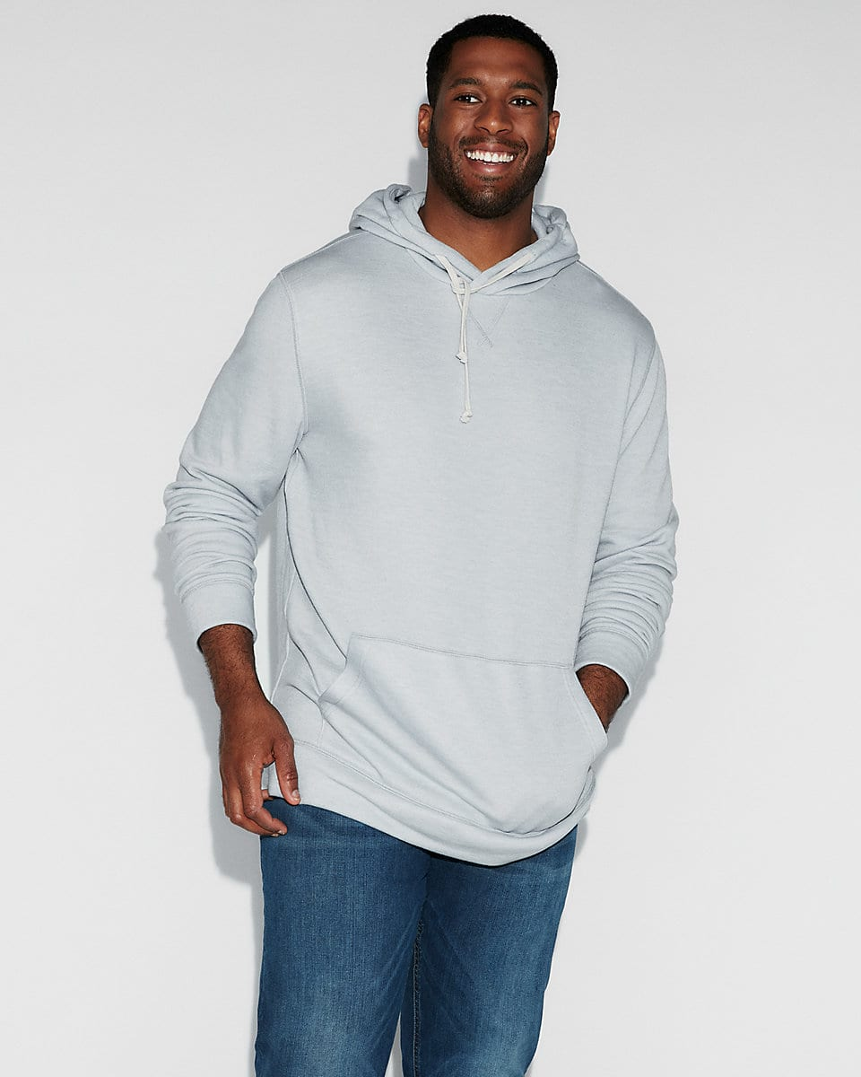*back*Express.com Additional 50% Off Clearance: Men's Short Sleeve Sweatshirt $7.50, Women's Dolman Sleeve Cover-Up $15, more + fs on $50 + or free shoprunner shipping on $25+
