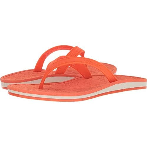 Coach Women's Flip Flop $15, Glovetanned Leather Saddle Bag (pink) $110, More + free ship with Prime or on $25+