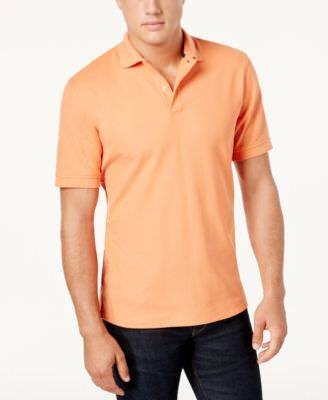 Club Room Classic-Fit Solid Performance UPF 50+ Polo (select colors) $5.23 + free shipping