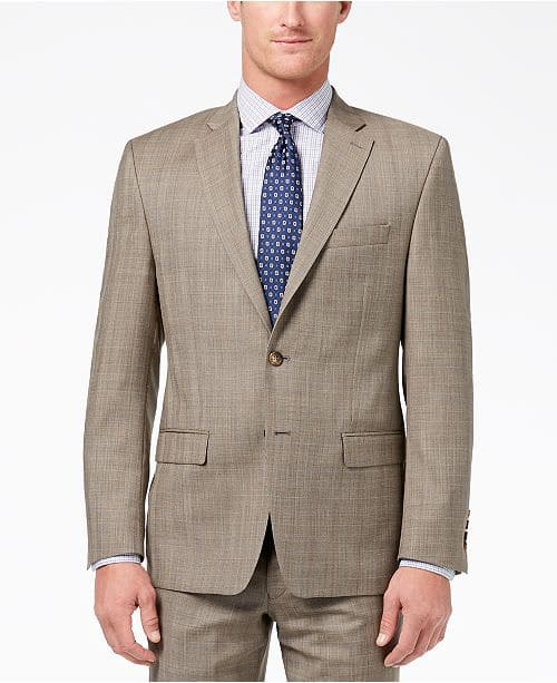 83721c7641f541 Lauren Ralph Lauren Men's Slim-Fit Ultraflex Wool Suit Jacket ...