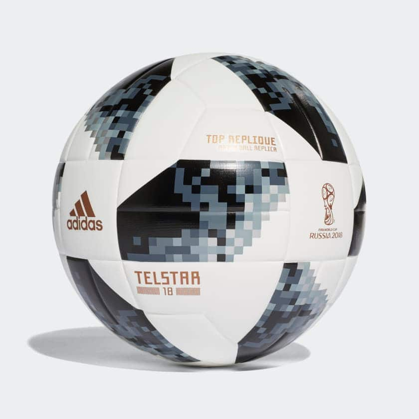 Adidas 20% Off Coupon: Adidas FIFA World Cup Top Replique Soccer Ball (Size 5) $16, Glider Ball (Size 5) $8, More + free shipping
