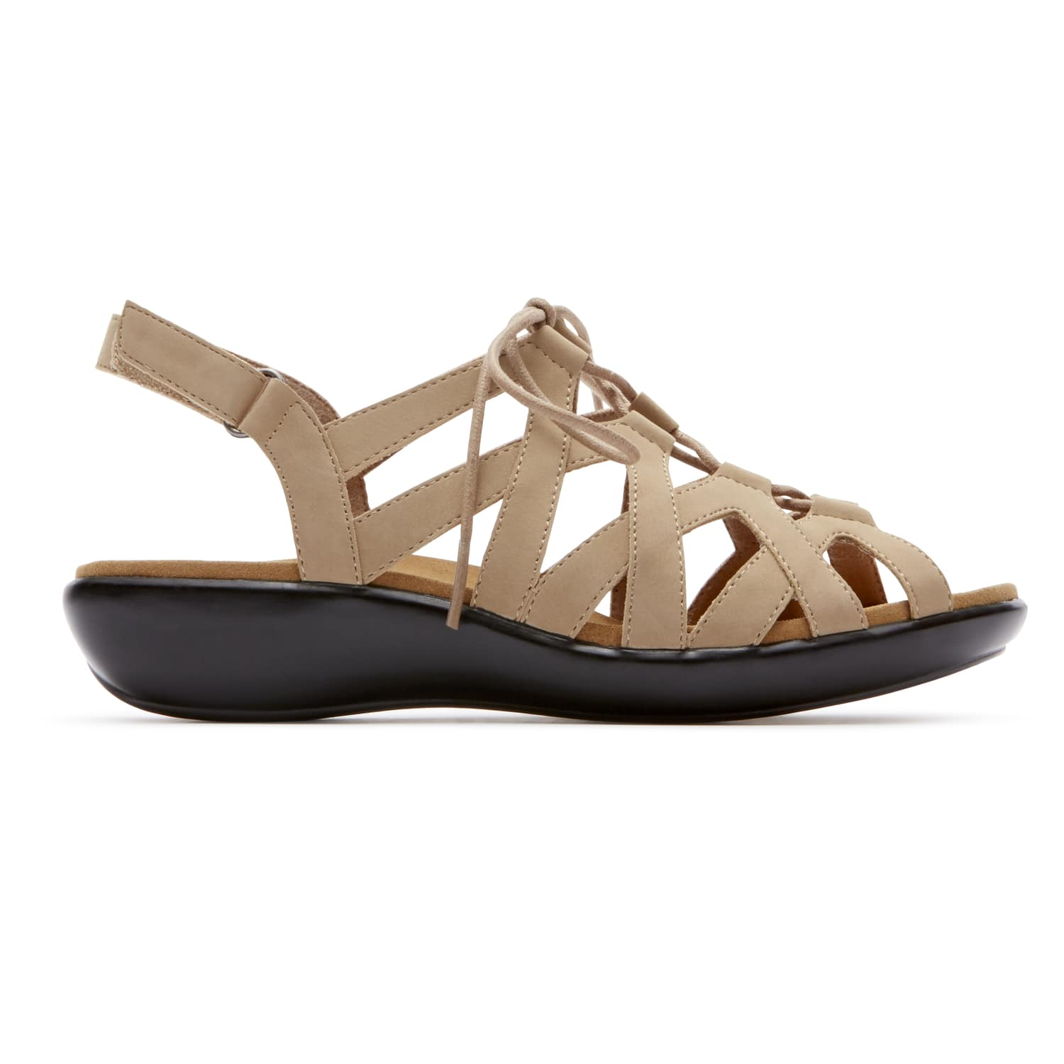 Rockport Women's Rozelle Gille Tie Sandal $22.50, WALK360 Washable Laceup $30, Weekend Casuals Lanea Quarter Strap $30, More + free shipping