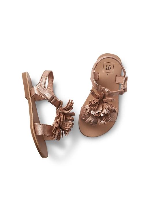6004217370 GAP Toddler Boys' Slip-on Sneakers $6.50, Toddler Girls' Fringe ...