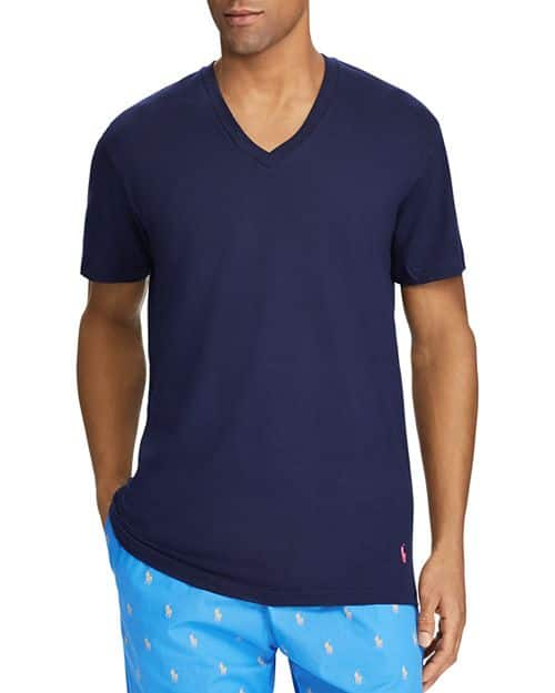 037d92da 3-Pack Polo Ralph Lauren Classic Fit V-Neck Tee (blue/white/pink) $13.34 +  free shipping