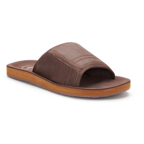 79e6a05d6304 Kohl s Cardholders  Dockers Men s Slide Sandals or Flip-Flops (L or ...