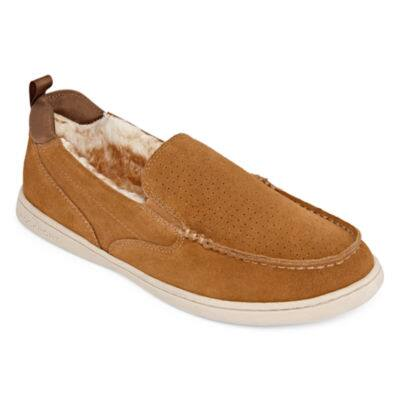 c1874e00f03 Rockport Men s Leather Slippers (various) + 15 JCPenney eGift Card 2 for   42 ( 21 each) via slickdeals rebate + free ship to JCPenney Store
