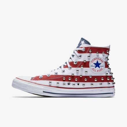 a97e34c4b333a1 Converse Chuck Taylor Men s or Women s All Star Studded Americana High Top   26.23 + free shipping