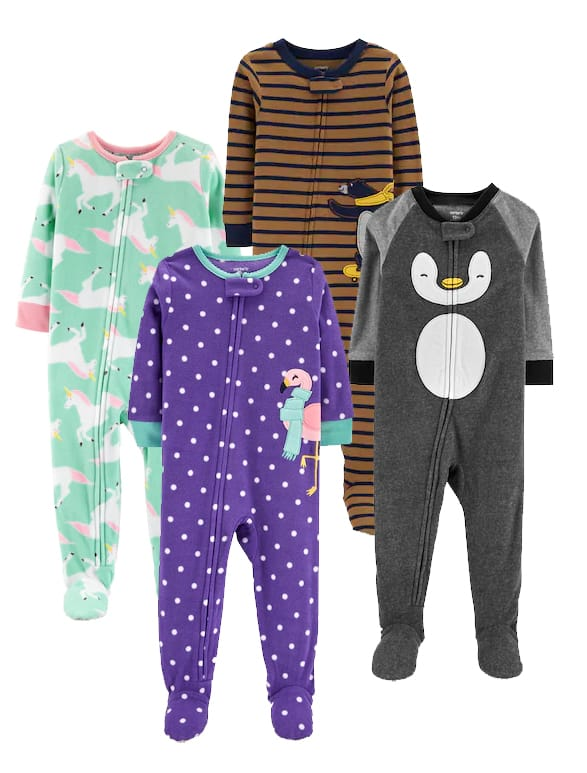 935bc7690a1 Kohl s Cardholders  Carter s Baby or Toddler Footed Pajamas ...