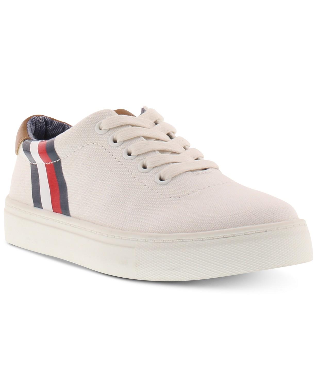 d7a3c1ab1689 Tommy Hilfiger Little   Big Boys Stripe Logo Sneakers  11