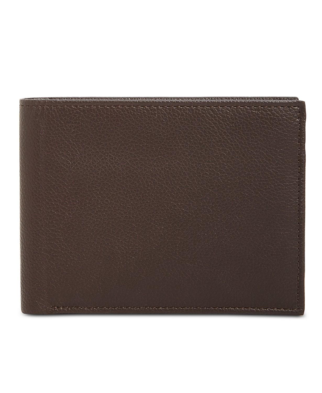 325bf3e76323 Perry Ellis  Men s Manhattan Pebble Leather Passcase Wallet  6 ...