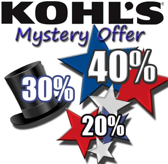 9e1b4c7bc Slickdeals Exclusive: Kohl's Mystery Coupon - Slickdeals.net