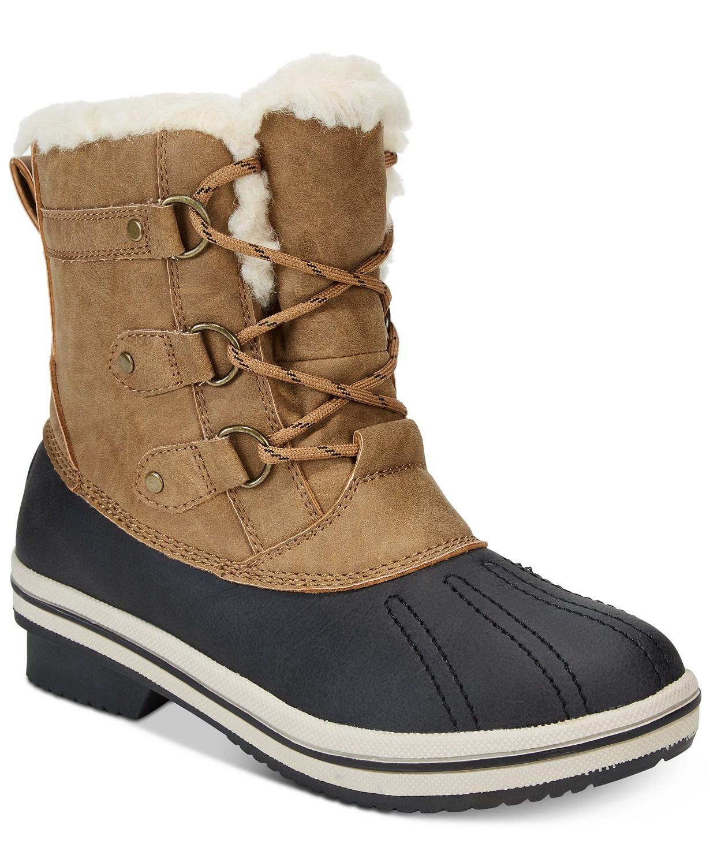 9ea71fb3ef06 Macy s Women s Shoes Flash Sale  PAWZ Gina Winter Boots - Slickdeals.net