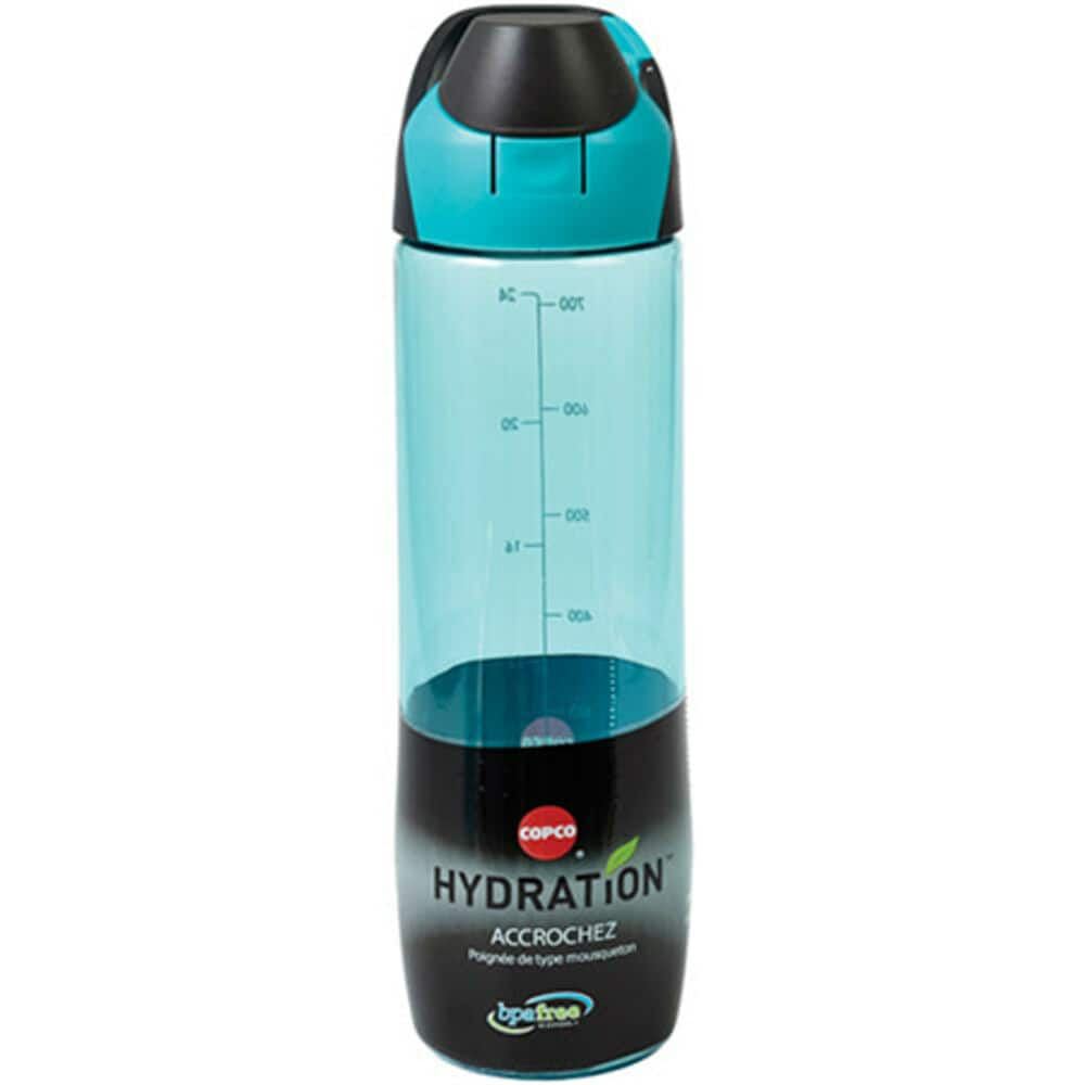 24-Oz Copco Clip and Go Bottle (cyan or lime) $2 w/ ebay code + free shipping
