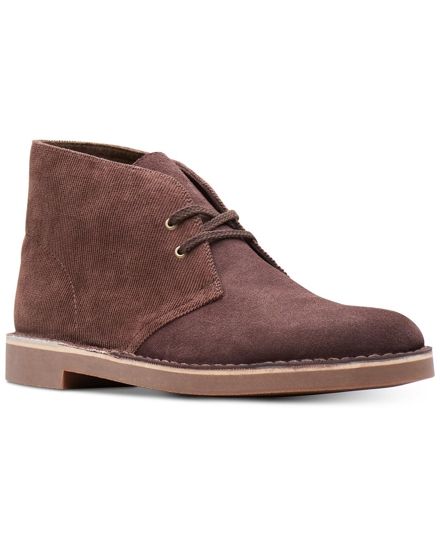 62f54b26045 price drop* Clarks Men's Limited Edition Felt & Leather Bushacres ...