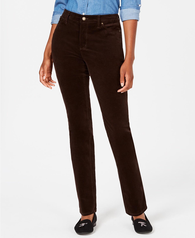 c5cd364173b11 Charter Club Women's Corduroy Straight-Leg Pants $10, Style & Co Curvy  Corduroy Skinny Jeans $10, Charter Club Windham Ponte Stretch Pants $10, ...