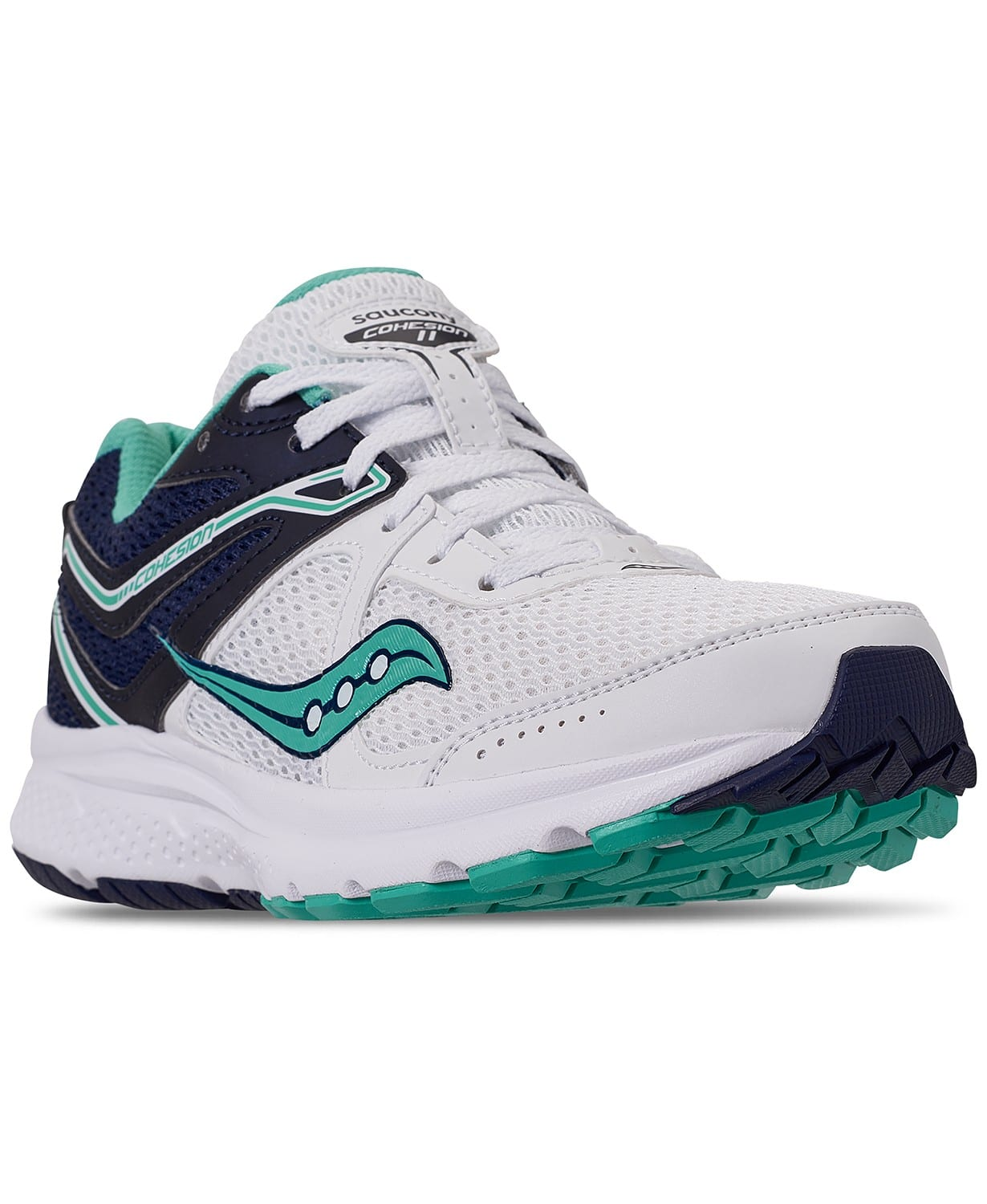 1d8da32f9447 Saucony Women s Cohesion 11 Running Sneakers  25 + free store pickup at  Macys