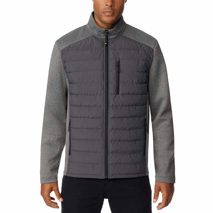 Costco: 32 Degrees Men's Mixed Media Jacket w/ Down Fill Panels $15, or $16 for Non-Members + free shipping