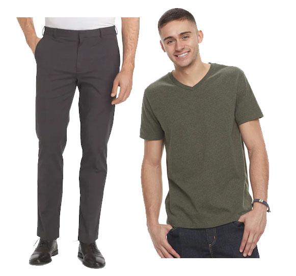 557de4463ae7 Van Heusen Men's Dress Pants + Urban Pipeline Tee - Slickdeals.net