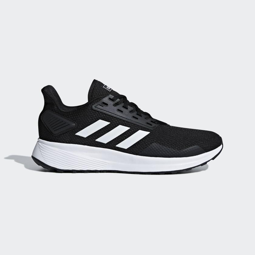 adidas Men's Duramo 9 Running Shoes (Black) $24 + Free S/H