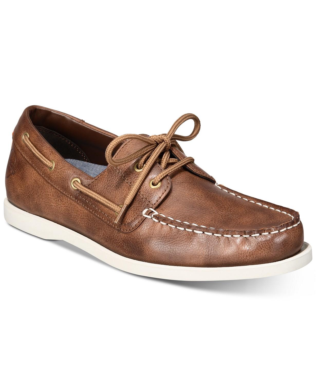 ac86efa870 Weatherproof Men's Vintage Benny Boat Shoes or Alfani Men's Dress ...