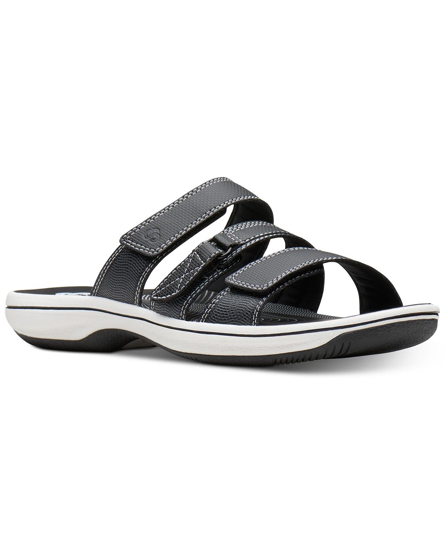 Clarks Women's Cloudsteppers Slide Sandals + Tommy Hilfiger Pillow + $10 Macys EGift Card $26 (after slickdeals rebate) + free shipping