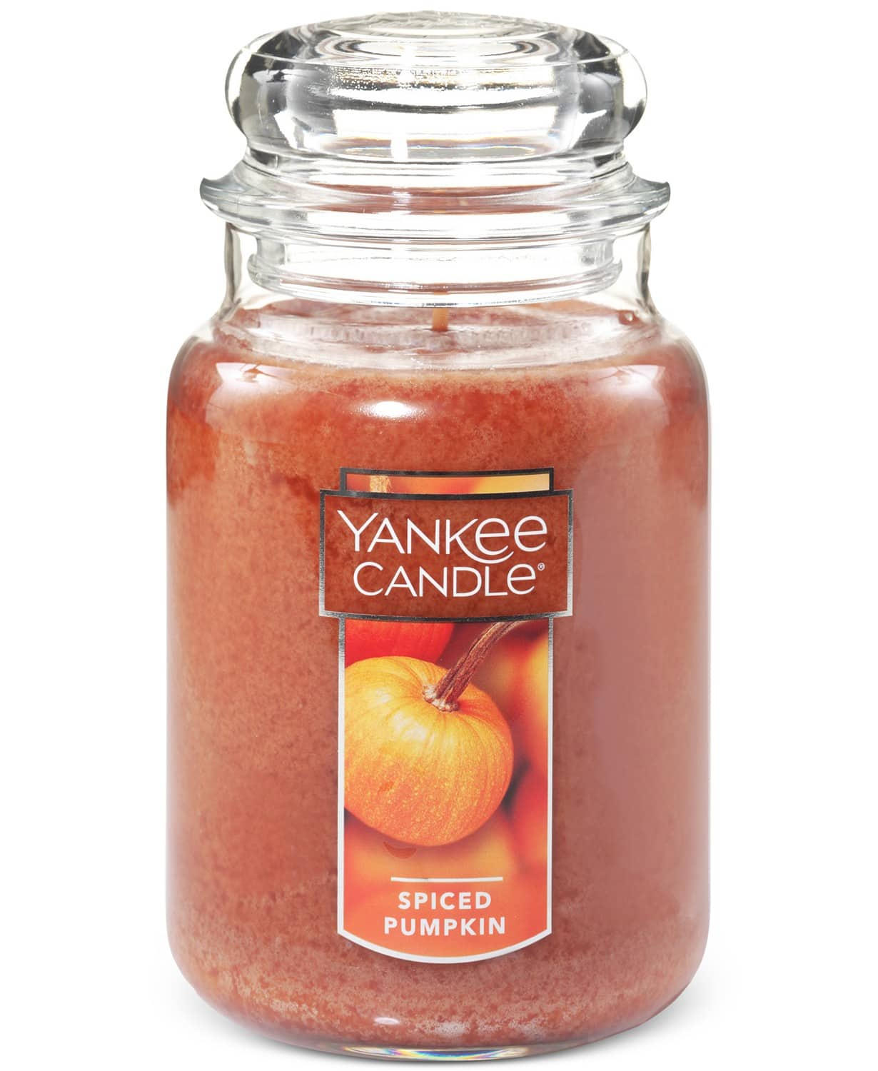 Yankee Candle: 22-oz Large Jar (spiced pumpkin) $6.39, Mini Reed Diffuser  (spiced pumpkin) $2.39, More + free store pickup at Macys