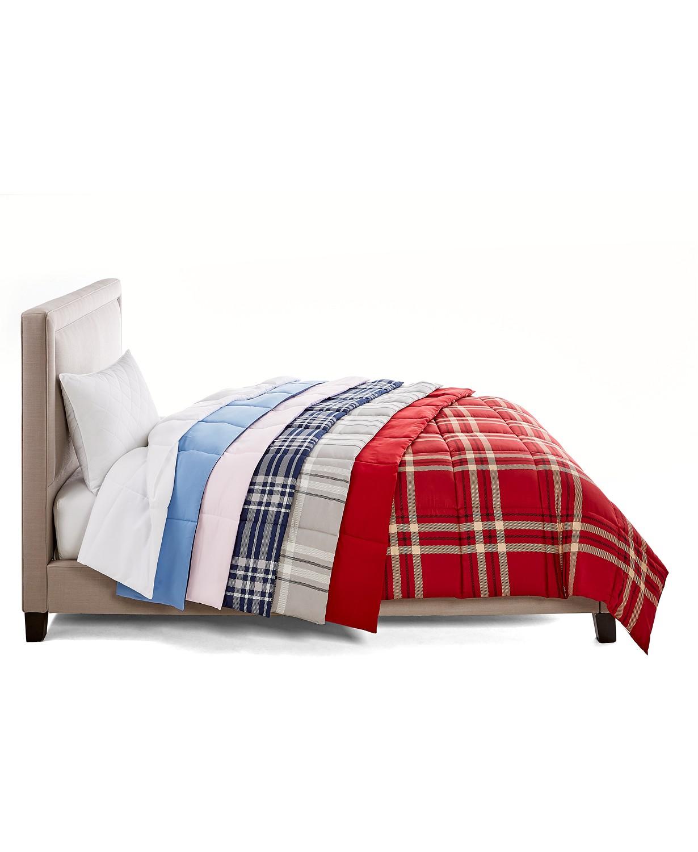 Martha Stewart Essentials Down Alternative Comforter: Twin $16, Queen $19, King $22 + Free Store pickup at Macys