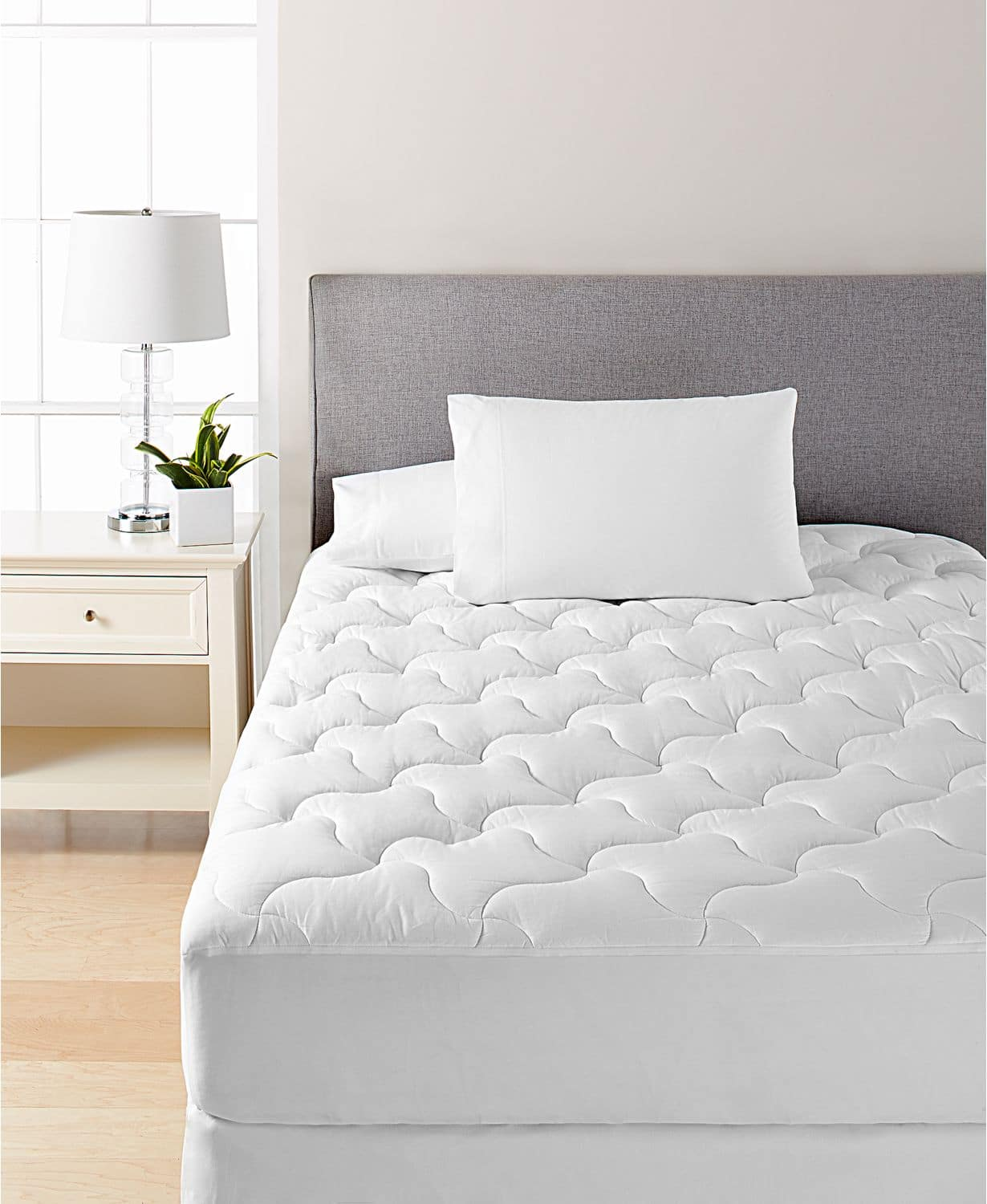 Dream Science Quilted Cotton Mattress Pad by Martha Stewart: Twin $11, Full $17, Queen $23, King $29 + free store pickup at Macys