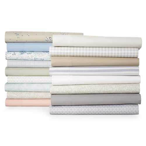 Croft & Barrow Extra Soft Microfiber Sheet Set (Twin, Full, Queen, King) $17+ free store pickup at Kohls
