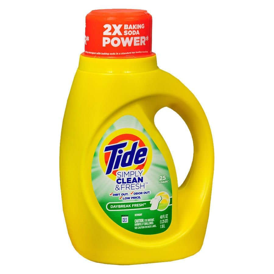Tide Simply Clean Laundry Detergent (various): 40oz Refreshing Breeze $2 & More + Free Store Pickup