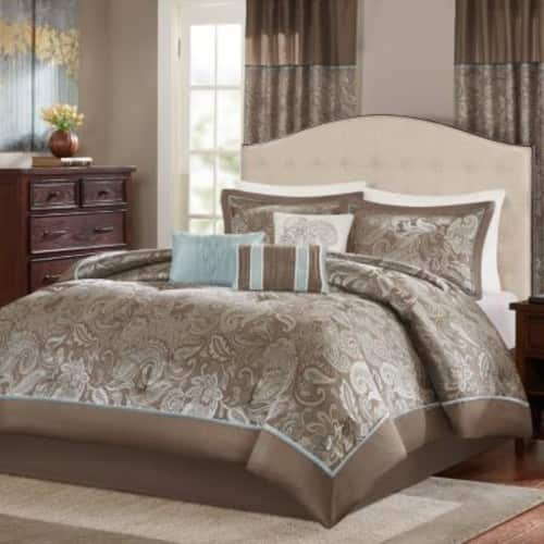 Kohls Cardholders: 7-Piece Madison Park Elsa Comforter Set: Queen $28, King $32 + free shipping