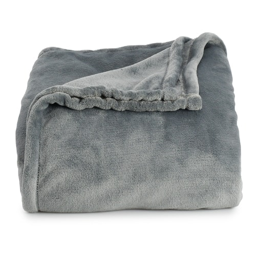The Big One Supersoft Plush Blanket: Queen $14.39, King $17.59 + free store pickup at Kohls